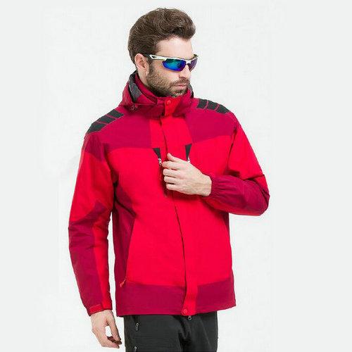 高品质三合一冲锋衣,北京冲锋衣定做,防水透气冲锋衣,