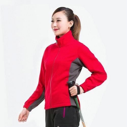 <b>女式抓绒衣,订制红色抓绒衣,保暖抓绒衣,</b>