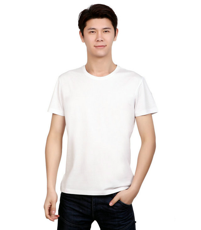 <b>白色圆领t恤衫,定做白色文化衫,订制白色广告衫,</b>