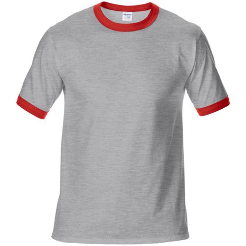 纯棉拼色T恤衫,拼色文化衫定制,订做双色文