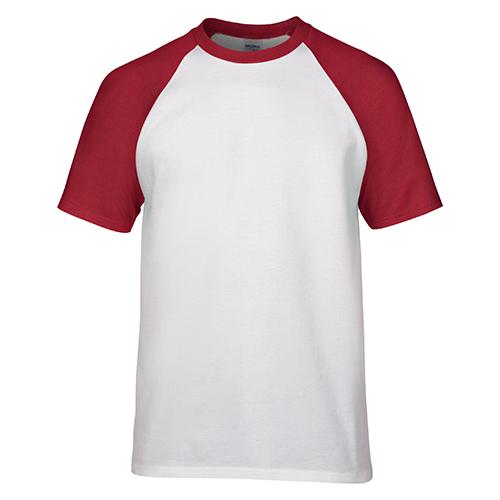 双色文化衫款式,圆领文化衫定制,撞色T恤衫
