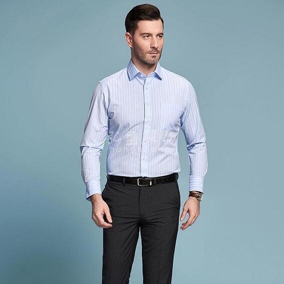 长袖衬衫定制,定做长袖衬衫,男款长袖衬衣,