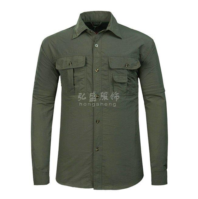 速干衬衣定制,订做速干衬衫,定做户外速干衣