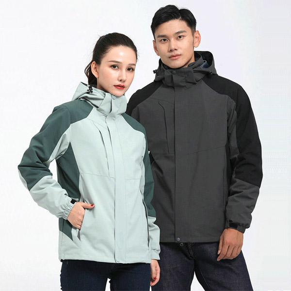 新款秋冬外套|户外防水保暖冲锋衣|可拆卸内